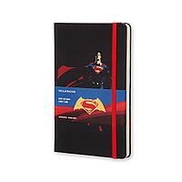 Блокнот Moleskine Limited Batman vs Superman Средний 240 страниц в Линейку Супермен (13х21 см) (8055002851534), фото 1