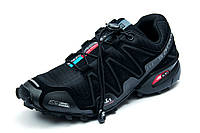 Кроссовки мужские Salomon Speedcross 3, черные, р. 41 42 43 44 45