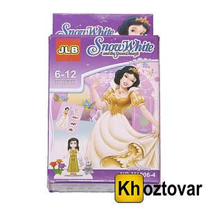 """Фигурка-конструктор для детей от 6 лет """"Белоснежка"""" JLB Snow White"""