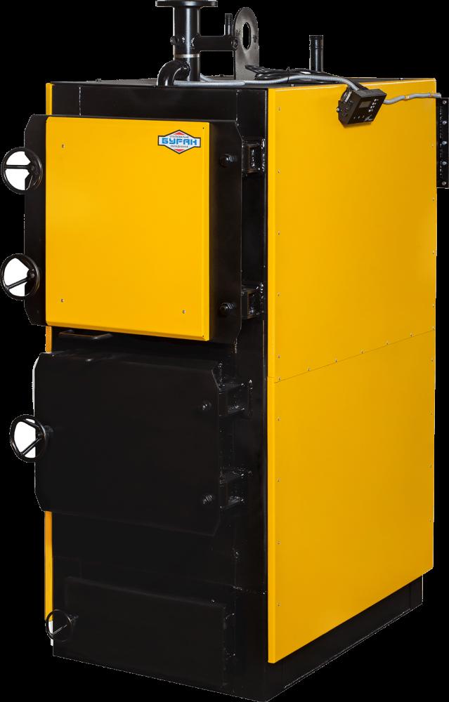 Промышленный твердотопливный котел длительного горения Буран Extra 300 кВт