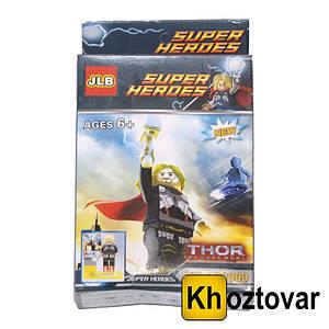 """Конструктор для дітей від 6 років """"Тор"""" JLB Super Heroes Thor"""