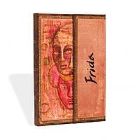 Блокнот Paperblanks Рукописи Фріда Автопортрет Великий в Лінійку (18х23 см) (PB8584), фото 1