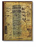 Блокнот Paperblanks Рукописи Бальзак Большой в Линейку (18х23 см) (PB1267-2), фото 1