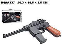 Пистолет 098A с пульками,утяжеленный кор.26,3*3,5*14,5 ш.к.H4AA337 /96/