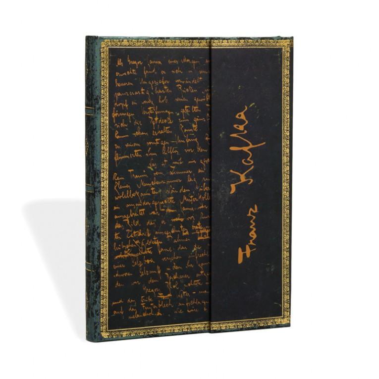 Блокнот Paperblanks Рукописи Кафка Средний с Чистыми листами (13х18 см) (PB2879-6), фото 1
