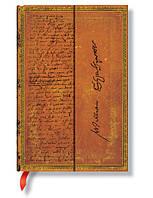 Блокнот Paperblanks Рукописи Шекспир Мини в Линейку (10х14 см) (PB6658), фото 1