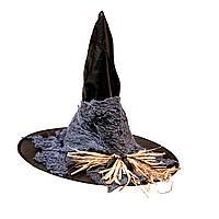 Шляпа ведьмы с мышками и пауками