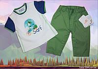 Летний костюм для мальчика Mayoral 65см(брюки и футболка)