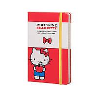 Блокнот Moleskine Limited Hello Kitty Карманный 192 страницы Красный в Линейку (9х14 см) (8055002852982), фото 1