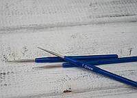 Крючок для вязания с пластмассовой ручкой 1мм