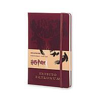Блокнот Moleskine Limited Harry Potter Средний 240 страниц Бордовый в Линейку (13х21 см) (8055002852760), фото 1