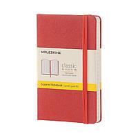 Блокнот Moleskine Classic Оранжевый Карманный 192 страницы в Клетку (9х14 см) (8051272893731), фото 1