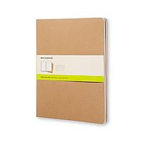 Блокнот Moleskine Cahier Бежевый XXL 120 страниц Чистые листы (21х30 см) (8055002851497), фото 1
