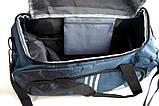 Спортивная сумка Adidas. Сумка в дорогу. Большая дорожная сумка. Сумки адидас., фото 6
