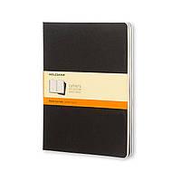 Блокнот Moleskine Cahier Черный Большой 120 страниц Линейка (19х25 см) (9788883705014)
