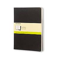 Блокнот Moleskine Cahier Черный Большой 120 страниц Чистые листы (19х25 см) (9788883705038)