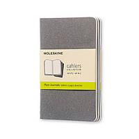 Блокнот Moleskine Cahier Теплий Сірий Кишеньковий 64 сторінки Клітка (9х14 см) (9788866134213), фото 1