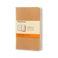 Блокнот Moleskine Cahier Бежевый Карманный 64 страницы Линейка (9х14 см) (9788883704925), фото 1