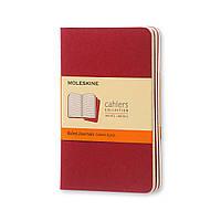 Блокнот Moleskine Cahier Бордовый Карманный 64 страницы Линейка (9х14 см) (9788862930956), фото 1