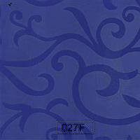 Пластик 027 F Синий полуматовый цветок