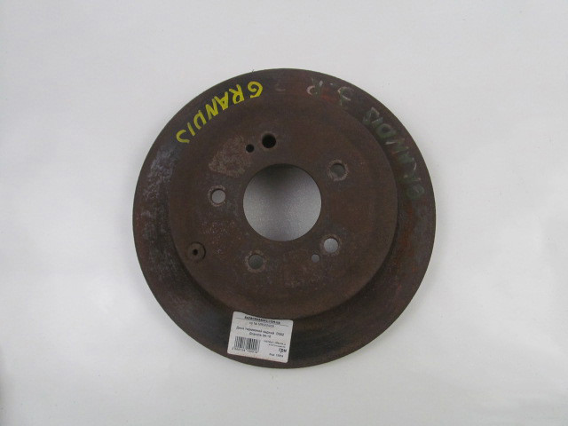 Диск тормозной задний D302 Mitsubishi Grandis 04-10 (Мицубиси Грандис)  MR955408