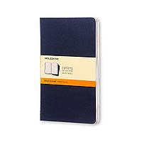 Блокнот Moleskine Cahier Синий Средний 80 страниц Линейка (13х21 см) (CH216), фото 1