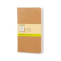 Блокнот Moleskine Cahier Бежевый Средний 80 страниц Чистые листы (13х21 см) (9788883705007), фото 1