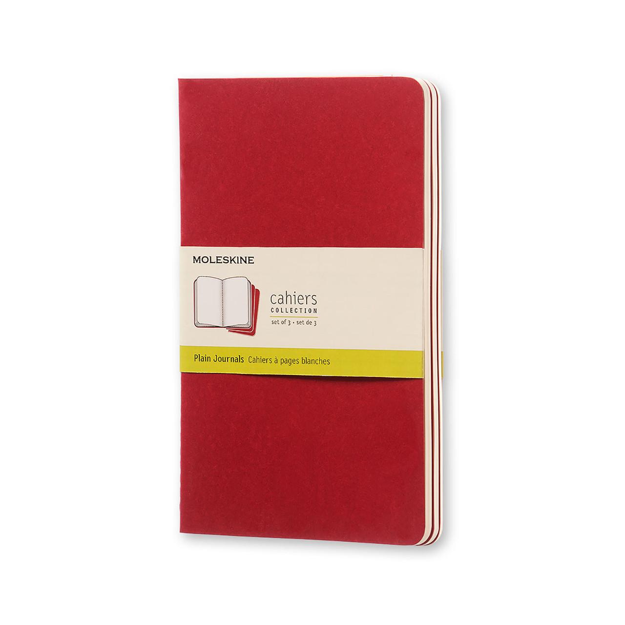 Блокнот Moleskine Cahier Бордовый Средний 80 страниц Чистые листы (13х21 см) (9788862931038), фото 1