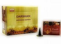 Frankincense (Ладан)(Darshan)(12/уп) конусы