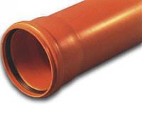 Труба канализационная ПВХ 110/3,2/1000мм