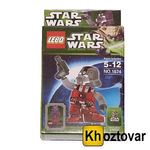 """Фігурка-конструктор для дітей 5-12 років """"Зоряні війни. Ситх-штурмовик"""" LEBQ Star Wars Sith Trooper"""