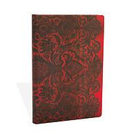 Блокнот Paperblanks Кружева Аллюр Мини в Линейку Красный (10х14 см) (PB3251-9), фото 1