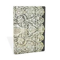 Блокнот Paperblanks Мереживо Алюр Міні в Лінійку Білий (10х14 см) (PB3315-8) (9781439733158)