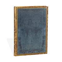 Блокнот Paperblanks Старая Кожа Классический Средний в Линейку Голубой (13х18 см) (PB3525-1), фото 1