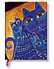 Блокнот Paperblanks Фантастические коты Средземноморские Мини в Линейку (10х14 см) (PB4784)