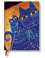 Блокнот Paperblanks Фантастические коты Средземноморские Мини в Линейку (10х14 см) (PB4784), фото 1