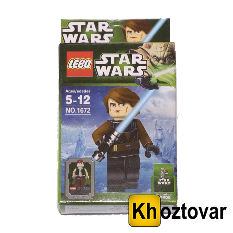 """Фігурка-конструктор для дітей 5-12 років """"Зоряні війни. Хан Соло"""" LEBQ Star Wars"""
