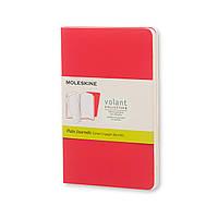 Блокнот Moleskine Volant Розовый Карманный 80 страниц Чистый лист 2 шт. (9х14 см) (9788883708718)