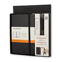 Подарочный набор Moleskine Блокнот Карманный 192 страницы + Ручка, фото 1