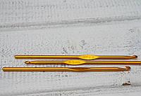 Крючок для вязания металлический 4,5мм