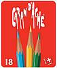 Набор Карандашей Caran d'Ache Red Line Металлический бокс, 18 цветов (288.418)
