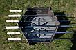 """Раскладной мангал-печь 3в1 """"Гюльчатай"""",2мм + комплект шампуров 6шт., с чехлом, фото 5"""