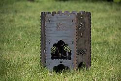 """Раскладной мангал-печь 3в1 """"Гюльчатай"""",2мм + комплект шампуров 6шт., с чехлом, фото 3"""