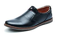 Туфли Fox, мужские, черные, р. 40 41 42 43 44 45