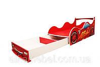 Кровать -машина с ящиком 1640*836мм, фото 1