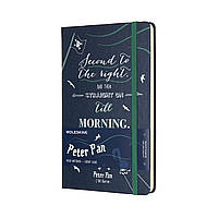 Блокнот Moleskine Limited Peter Pan Средний 240 страниц в Линейку Синий (13х21 см) (8055002855488), фото 1