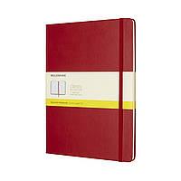 Блокнот Moleskine Classic Красный Большой 192 страницы в Клетку (19х25 см) (8055002855099), фото 1