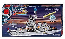 """Конструктор Brick 112 """"Военный корабль"""", 970 дет."""