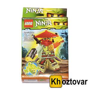 """Фігурка-конструктор для дітей від 6 до 12 років """" Ниндзяго. Зейн"""" LEBQ Ninja №1759"""