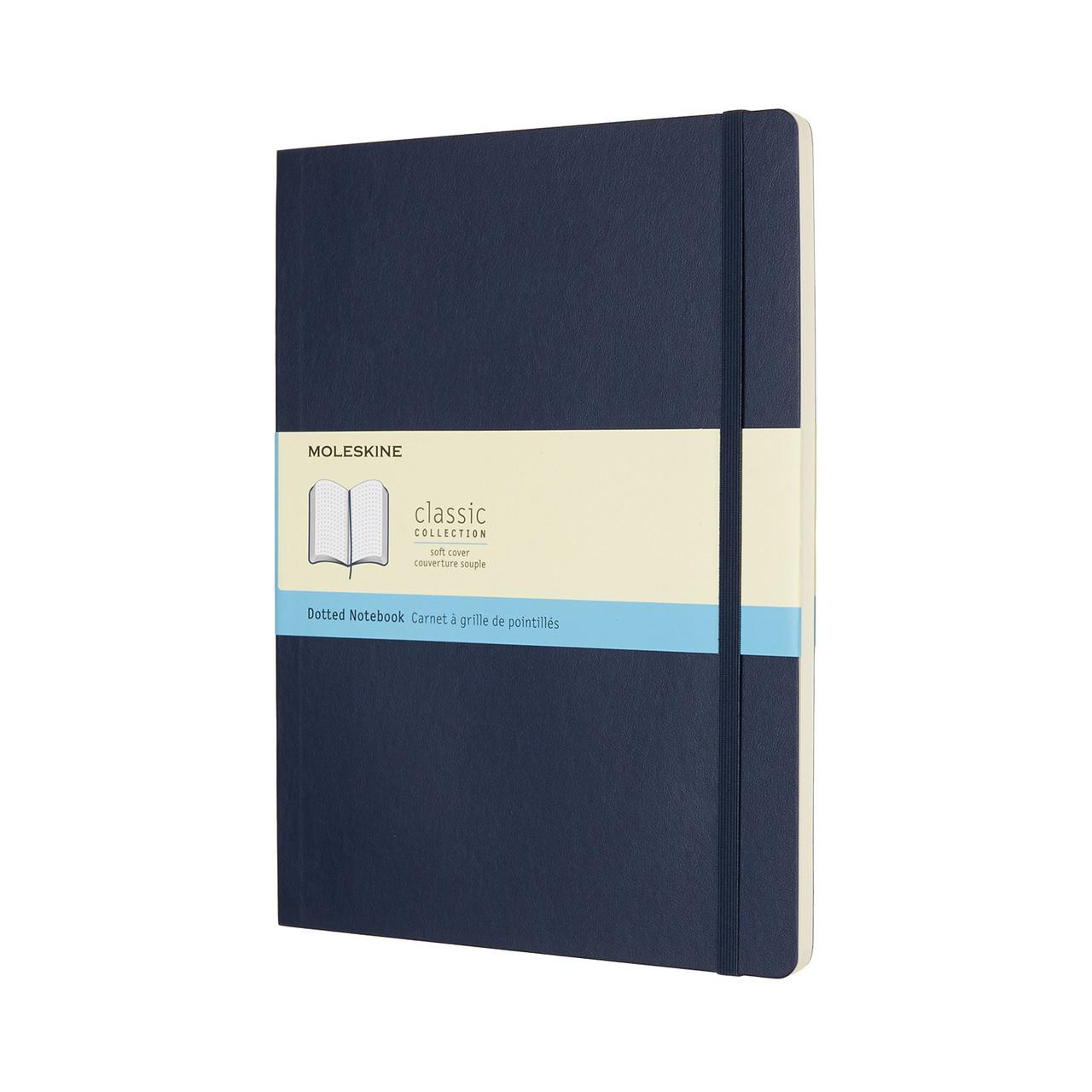 Блокнот Moleskine Classic Сапфир Большой 192 страницы в Точку Мягкий (19х25 см) (8055002854795), фото 1